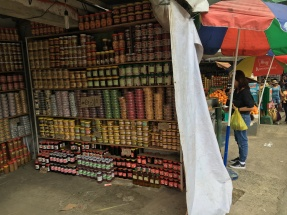 a store selling the famous baguio delicacies known to be common souvenirs